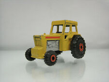 Diecast Matchbox Superfast Tractor No.46 Yellow Good Condition