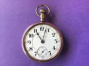 Hamilton 18s, grade 940, 21 jewel Railroad pocket watch