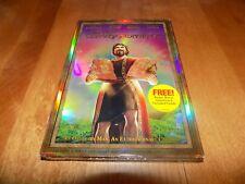 THE TEN COMMANDMENTS Ben Kingsley Christian Slater Elliott Gould DVD PLUS CD NEW