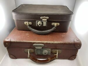 Set Of 2 Vintage Suitcases