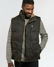 FATFACE Men's Brown Sleeveless Winter Casual Paignton Gilet Coat Jacket XS TO XL