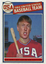 "DONALD TRUMP 85 ACEO ART CARD ""MAKE AMERICA GREAT AGAIN, ONE HOME RUN AT A TIME"""