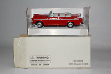 NATIONAL MOTOR MINT 1955 CHRYSLER C-300 CONVERTIBLE, RED, 1:43 SCALE, NEW IN BOX