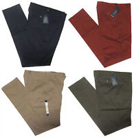 $295 Polo Ralph Lauren Mens Italy Flat Front Navy Red Green Slim Chino Pants