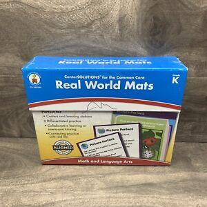 Real World Mats Grade K Math and Language Arts NEW Common Core