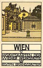 R171594 Wien. 12. Ansichtskarten der Wiener Werkstaette