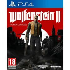 Wolfenstein 2 II The Colossus Ps4 Game 2017 PAL