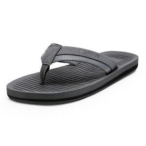 NORTIV 8 Mens Thong Flip Flops Comfort LightWeight Summer Beach Slippers