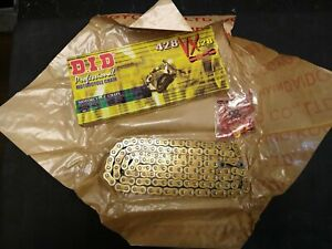 D.I.D DID 428 VX Pro Series Sealed X-ring Gold or Natural Motorcycle Drive Chain