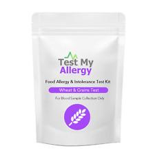 Test My Allergy - Grano E Glutine Cibo Intolleranza Test Kit