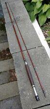 "Heddon Lifetime Pal 8'6"" Fiberglass Fly Fishing Rod 8247 VERYNICE Stainless Wrap"