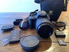 Canon EOS Rebel SL1 18.0MP Digital SLR Camera - Black (with EFS 18-55mm IS lens)