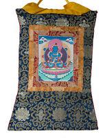 Thangka Tibetano Budda Vajradharma -tangka Appeso Bouddhiste-63x 47cm- 1111