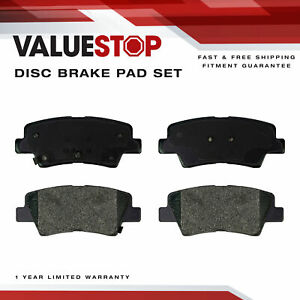 Rear Ceramic Brake Pads for Hyundai Elantra GT, Sonata, Veloster;Kia Forte, Soul
