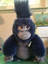 Disney Store Exclusive 13� Terk Blue Gorilla Monkey Plush Toy Tarzan