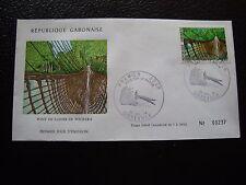 GABON - enveloppe 1er jour 30/7/1974 (B1) stamp