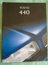 Volvo 440 range brochure 1995 Australian market