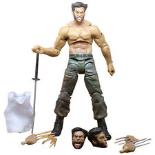"7"" Marvel Legends Wolverine III Logan X-man Infinite Action Figure Toy PVC Gifts"
