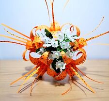 Origami Tiger Lily bouquet paper flowers decor centerpiece anniversary GIFT