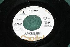 Raspberries - Ecstacy - Mo/St Promo - Capitol P-3826- Cleveland power pop Listen