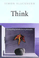 Think: A Compelling Introduction to Philosophy, Acceptable, Simon Blackburn, Boo