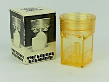 The Square Egg Maker in Original Box. Bnib. Vintage Collectible. Made in Japan.