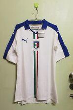BNWT Puma Italy Italia 2016 Away Player Issue L Shirt Maglia Jersey