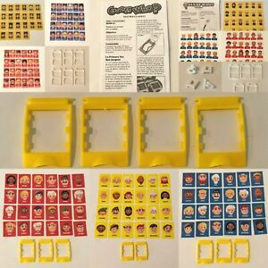 Guess Who Board Game Replacement Parts Pieces Choice Frames Face Cards
