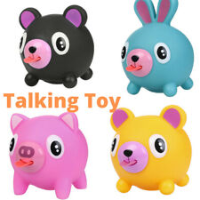 Talking Animal Jabber Kids Toy Sticking Tongue Out Stress Relieve Ball Gift  UK