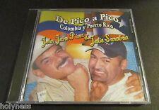 JOHN JAIRO PEREZ & JULIO SANABRIA / DE PICO A PICO COLOMBIA Y PR / CD / N MINT