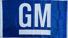GM GENERAL MOTORS CHEVROLET FLAG BANNER DRAPEAU MAN CAVE GARAGE STOCKS CADILLAC