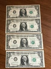 Barr Set 1963B $1 Star Note currency  1963B * Replacement Notes Barr set of 4