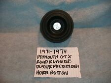 1971-1974 PLYMOUTH GTX ROAD RUNNER DUSTER GENUINE OEM HORN PAD BUTTON FREE SHIPP