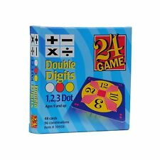 Original 24 Game Cards Double Digits Free Shipping