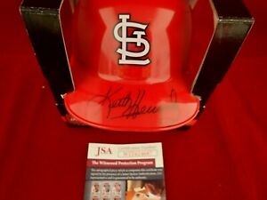 Keith Hernandez Signed Auto St Louis Cardinals Mini Batting Helmet JSA WIT624687