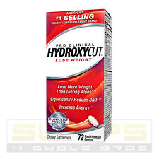 Hydroxycut Pro Clinical 72 Caps w/CAFFEINE  *Number 1 Fat Burner!*FREE SHIP*