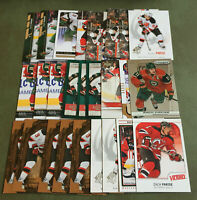 Zach Parise 26 Card Lot Nice Mix See Scans NHL Hockey