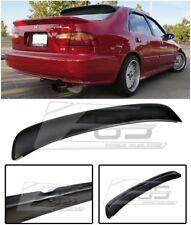 EOS Ferio Style Fiberglass Rear Trunk Lip Wing Spoiler For 92-95 Civic 4dr Sedan