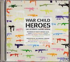 CD WAR CHILD HEROES Tracks by U2 Hot Chip Duffy Kooks NEU