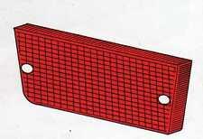 Plastica fanalino posteriore dx rosso Fiat 131