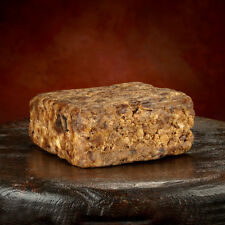 Half Pound Raw African BLACK SOAP Organic From GHANA Pure Premium Quality 8 oz.