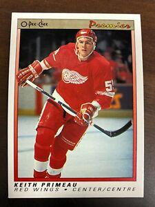 1990-91 OPC premier Keith Primeau RC #91 Rookie Card Detroit Red Wings NM-MT