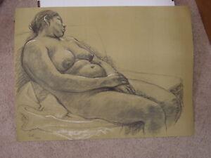 """FRANCISCO ZUNIGA Mexico Offset Lithograph Print """"Desnudo Rescoato"""" 1974"""