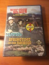 The Big Show/ Sringtime in the Rockies (DVD) Gene Autry, Smiley Burnette...63