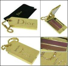 100% Authentic Ltd Edition Dior Couture Swarovski Juwel Gold Makeup Handtasche Charme
