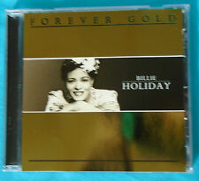Forever Gold by Billie Holiday (2007 jazz compilation CD, St. Clair, import)
