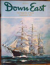 DOWN EAST MAGAZINE~ SEPTEMBER 1971
