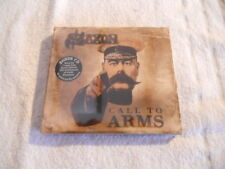 """Saxon """"Call to Arms"""" 2cd Limited Ed. 2011 W/ Live 1980 NEW Sealed"""