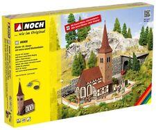 """Noch 66906 Kirche """"St. Georg"""" mit micro-sound Glockenläuten *Neu*"""