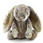 "Jellycat Gray Brown Plush Bunny Rabbit Jelly Cat Super Soft 11"" Bashful Woodland"